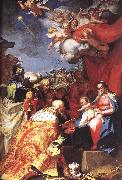 BLOEMAERT, Abraham Adoration of the Magi d oil